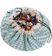 Play&Go Spielzeugtasche, Diamond Blue