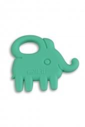 Milkii Silikon Beissring Elefant, Mint