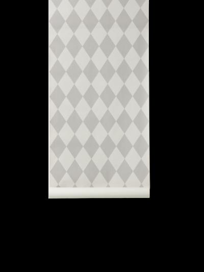 Ferm Living Tapeten Harlequin, Grey