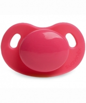 Suavinex Schnuller Silikon, dental +6 M - pink