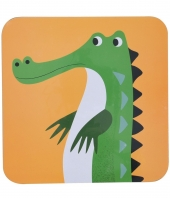 Tischauflage, Krokodil