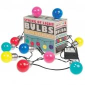 Rex London Lichterkette, Bulb Lights, farbig