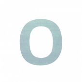 Sebra Deko-Buchstaben O, Dusty Mint
