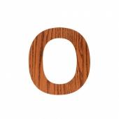 Sebra Deko-Buchstaben O, Natur