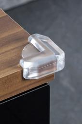 Eckenschutz reer, transparent, 4 Stück