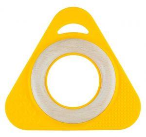 TriO+ Holzgreifling, gelb