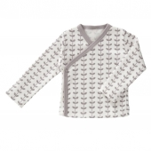 Fresk Wickelshirt, Leaves grey