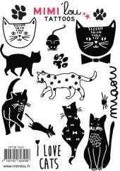 MIMIlou Kinder-Tattoos, Cats