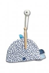 Snoozebaby Baby Mütze, Indigo Dot