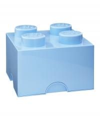 LEGO Brick 4 Storage, Aufbewahrungsbox, hellblau