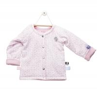 Snoozebaby Baumwolle-Jacke, Mosaic Powder Pink