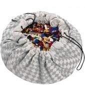 Play&Go Spielzeugtasche, Diamond Grey