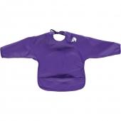 CeLaVi Lätzchen mit Ärmel, violett