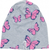 Geggamoja Mütze, Limited Edition, Pink Butterfly