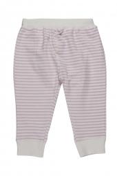 Pippi Baby Hose aus Bio-Baumwolle, Streifen/ pink