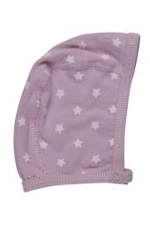 Pippi Baby Mütze aus Bio-Baumwolle, pink