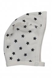 Pippi Baby Mütze aus Bio-Baumwolle, weiss