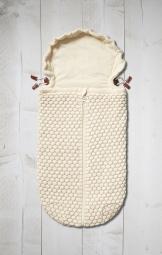 JOOLZ Essential Nest für Wanne & Autositz Honeycomb, Off-White