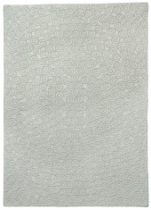 Lorena Canals Kinderteppich aus Wolle, Spiral Grey