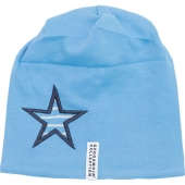 Geggamoja Mütze, Blau/ Stern