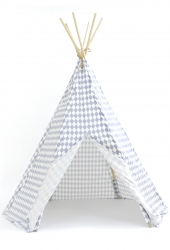 NOBODINOZ Tipi-Zelt Arizona, Blue Diamonds