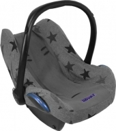 Dooky Babyschalenbezug - Graue Sterne