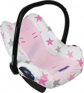 Dooky Babyschalenbezug - Pinke Sterne