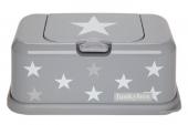 FunkyBox Feuchttücher Box, Grey Stars