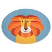 Rex International Melamin-Teller Colourful Creatures Löwe