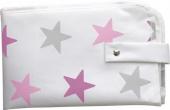Dooky 3-in-1 Wickelset, Pink Stars