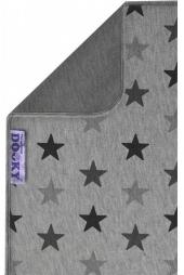 Dooky Kinderwagen-Decke, Grey Stars