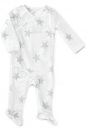 Aden Anais Strampler (Kimono), Medium Silver Star