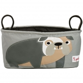 3 sprouts Kinderwagentasche, Bulldogge