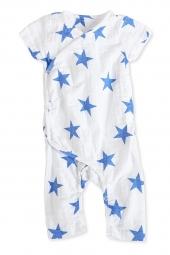 Aden Anais Strampler (Kimono), Ultramarine Star