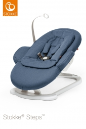 STOKKE Steps Bouncer Wippe, Blau