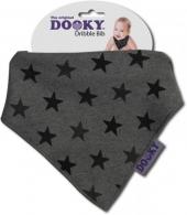 Dooky Dreieckstuch Grey Stars