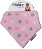 Dooky Dreieckstuch Pink Stars
