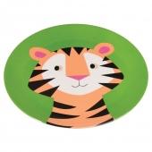 Rex International Melamin-Teller Colourful Creatures Tiger