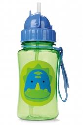Skip Hop Zoo Strohhalm-Flasche, Dino