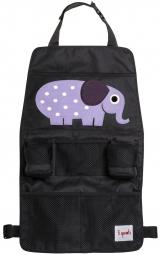 3 sprouts Rücksitz Organizer, Elefant