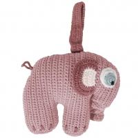 Sebra Spieluhr Elefant, Altrosa