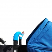 AddBaby Kinderwagenbügel-Bezug, Blau