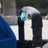 AddBaby Kinderwagenbügel-Bezug, Türkis