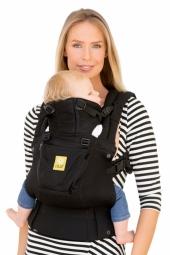 Lillebaby Babytrage, 360° 6-Positionen, Airflow Black
