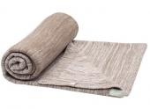 Snoozebaby Gestrickte Baumwolldecke Stylish Cocooning (75x100), Desert Taupe