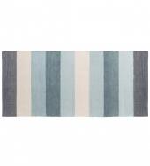 Sebra Webteppich, Pastell, Blau