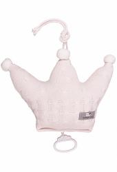Baby`s Only Spieluhr Krone, Zopf, Uni Klassisch Rosa