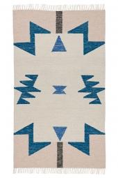 Ferm Living Kelim Teppich, Dreiecke, klein