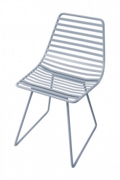 Sebra Me-Sit Metallhocker, S, Wolkenblau