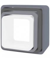Sebra Cube Regale, 4er Set, Quadratisch, Matte, Grau